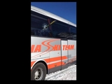 Ski is good, but bus is kaputt !